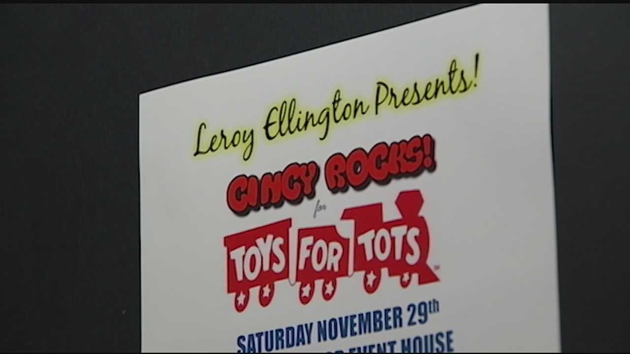 Cincinnati musicians will hit a high note for children in need. On Saturday, there will be a musical extravaganza at the Redmoor Event House to benefit the Toys for Tots program