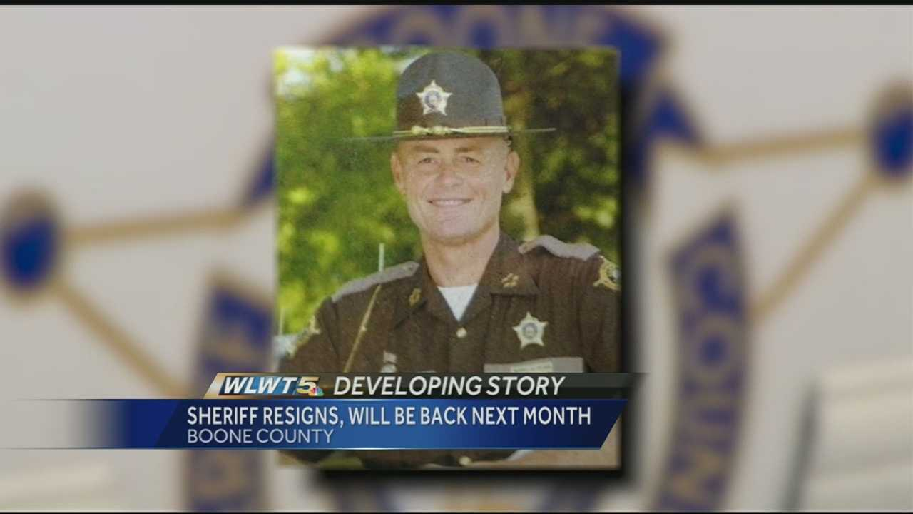 The Boone County Judge Executive's office said that Boone County Sheriff Michael A. Helmig informed the office last week that he was stepping down from his current term in office on Sunday.