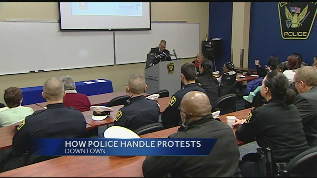 As Cincinnati police monitor another protest downtown this evening, the prevailing view is that Police Chief Jeffrey Blackwell is handling these recent and sensitive protests in a logical and sensible way.