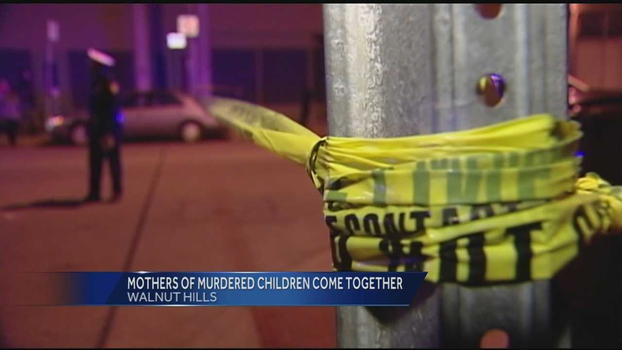 Organizers of Mothers of Murdered Children said they came together determined to stop the violence.