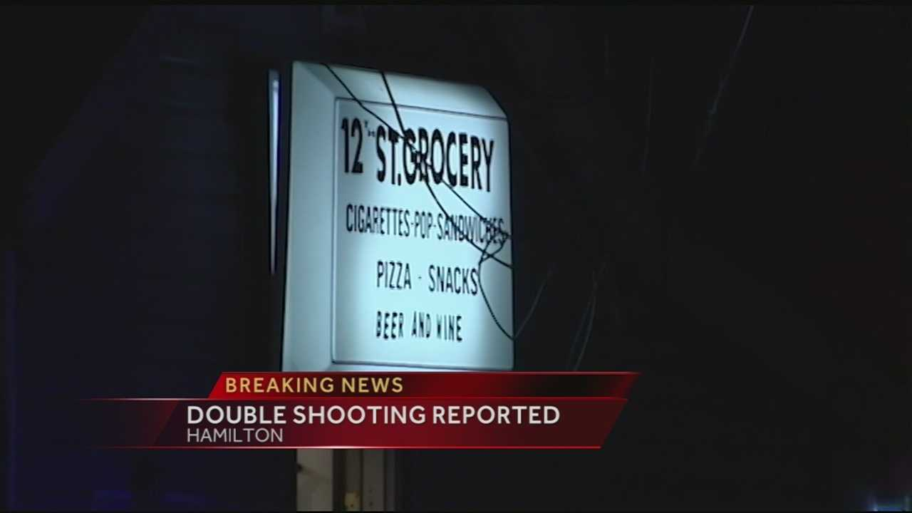 Dispatchers said the shooting happened at the 12th Street Grocery in the 700 block of 12th Street about 9:30 p.m.