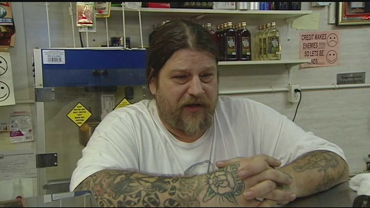 The family of the store clerk who was shot during a Saturday night robbery spoke about the incident Sunday. The clerk's brother, Morton Combs, said his brother is very peaceful, but Saturday he fought back because his life was in danger.