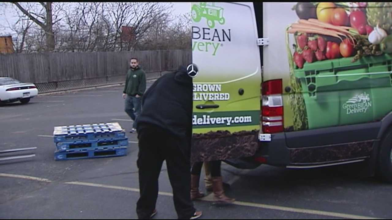 The Green BEAN Delivery is donating nearly 5 tons of fresh produce to five food banks, including the Freestore Foodbank.