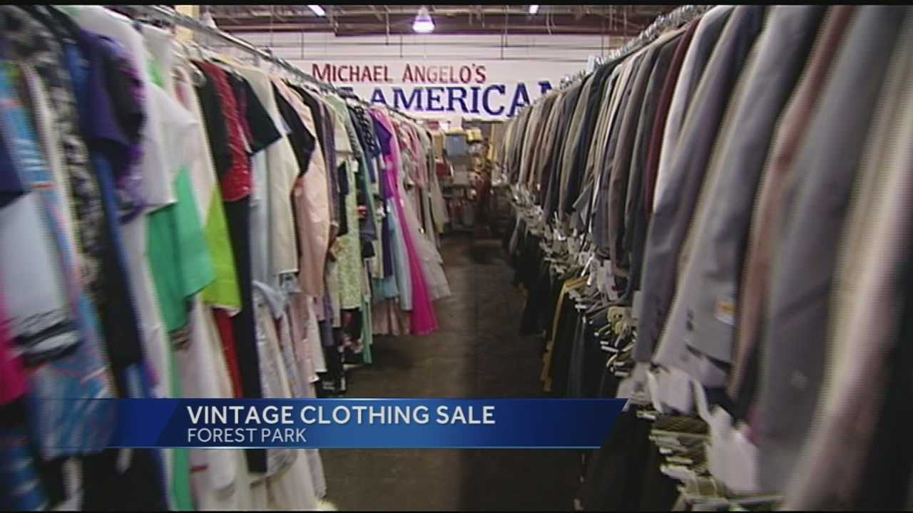 A lifetime collection of vintage clothing is for sale in the Tri-State. Originally known as Rick's Vintage Fashions, it's a collection of authentic period clothing from the 1920s through the 1980s.