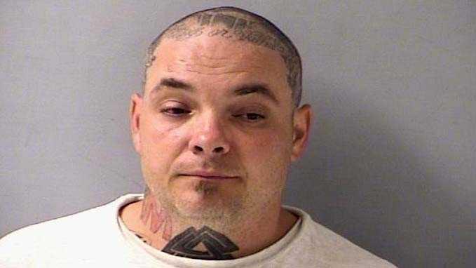 Eric Unthank after a 2012 arrest