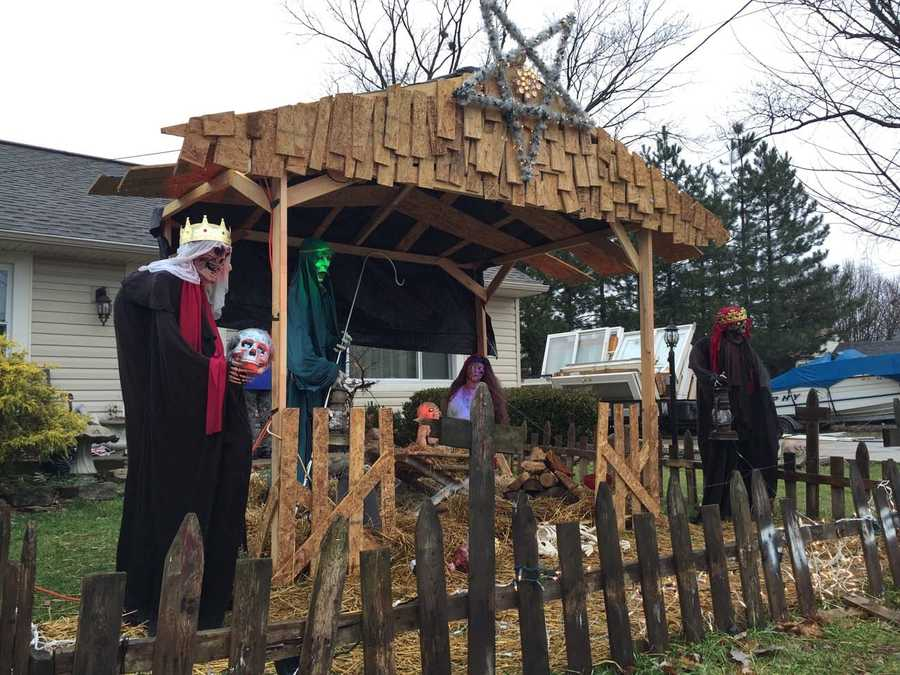 The zombie Nativity in 2014