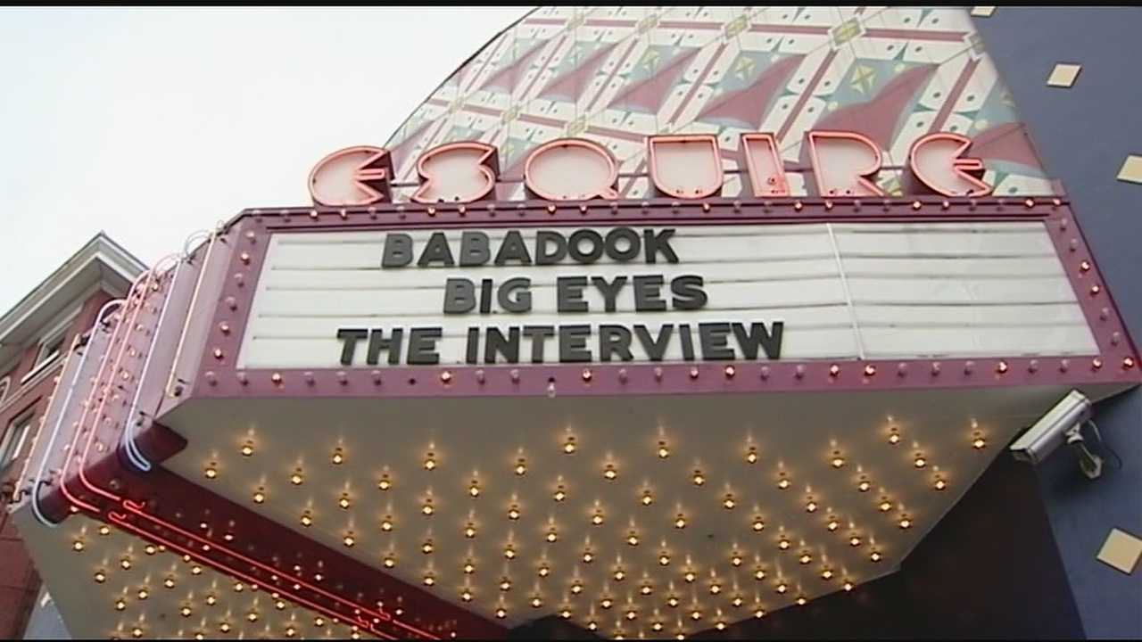 "The Esquire Theatre in Clifton is one of a couple hundred independent theaters showing ""The Interview"" on Christmas Day."