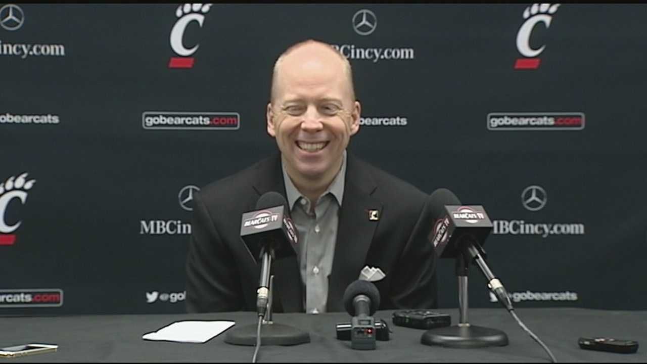 Mick Cronin, 43, has missed three games since the school said that during a routine checkup for headaches it was discovered Cronin has an unruptured aneurysm.