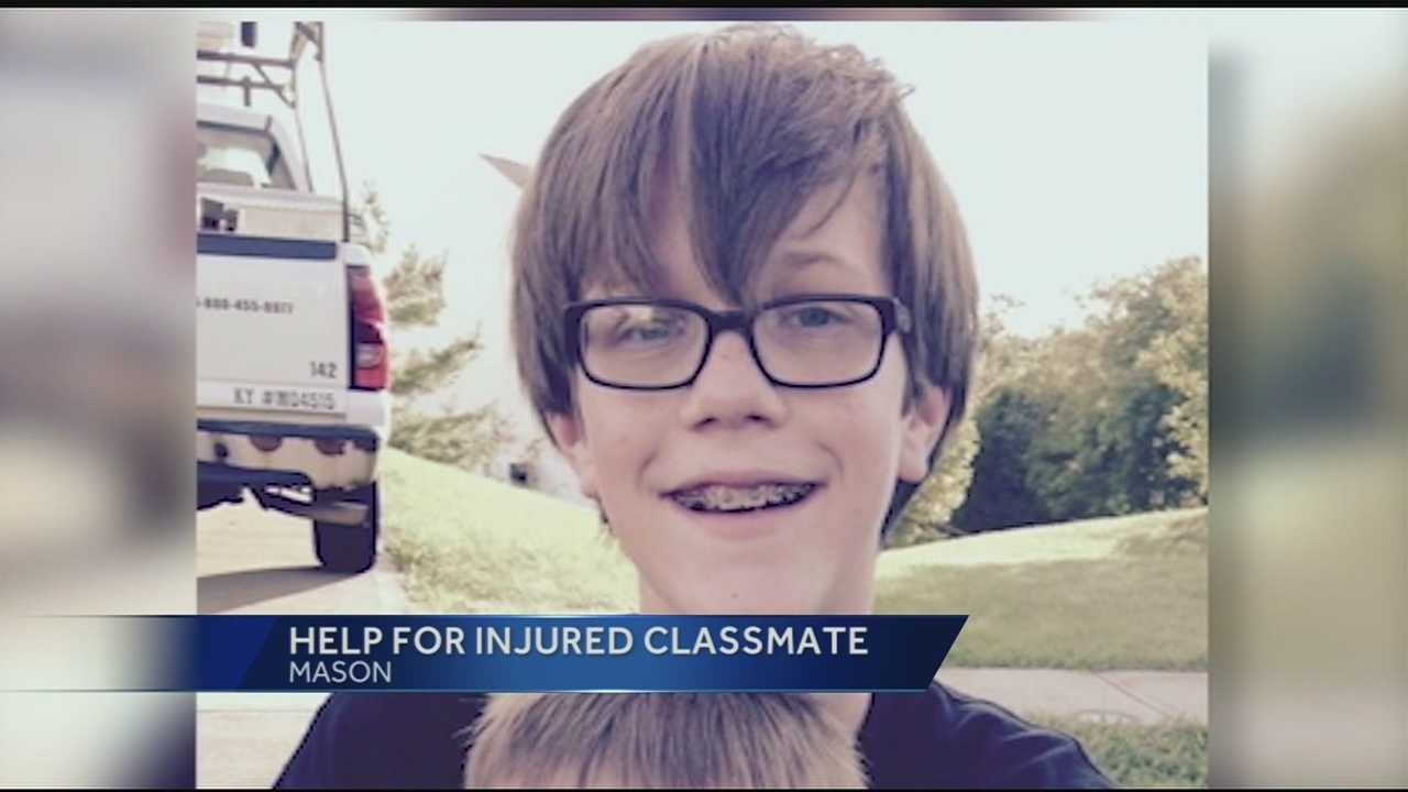 According to students and faculty, Gage Meade is known in Mason Middle School as the classmate who can always make you laugh and the friend who you could trust with your deepest secrets. Fellow students said there was a sense of sadness returning from winter break without Gage's smiling face in the hallways.