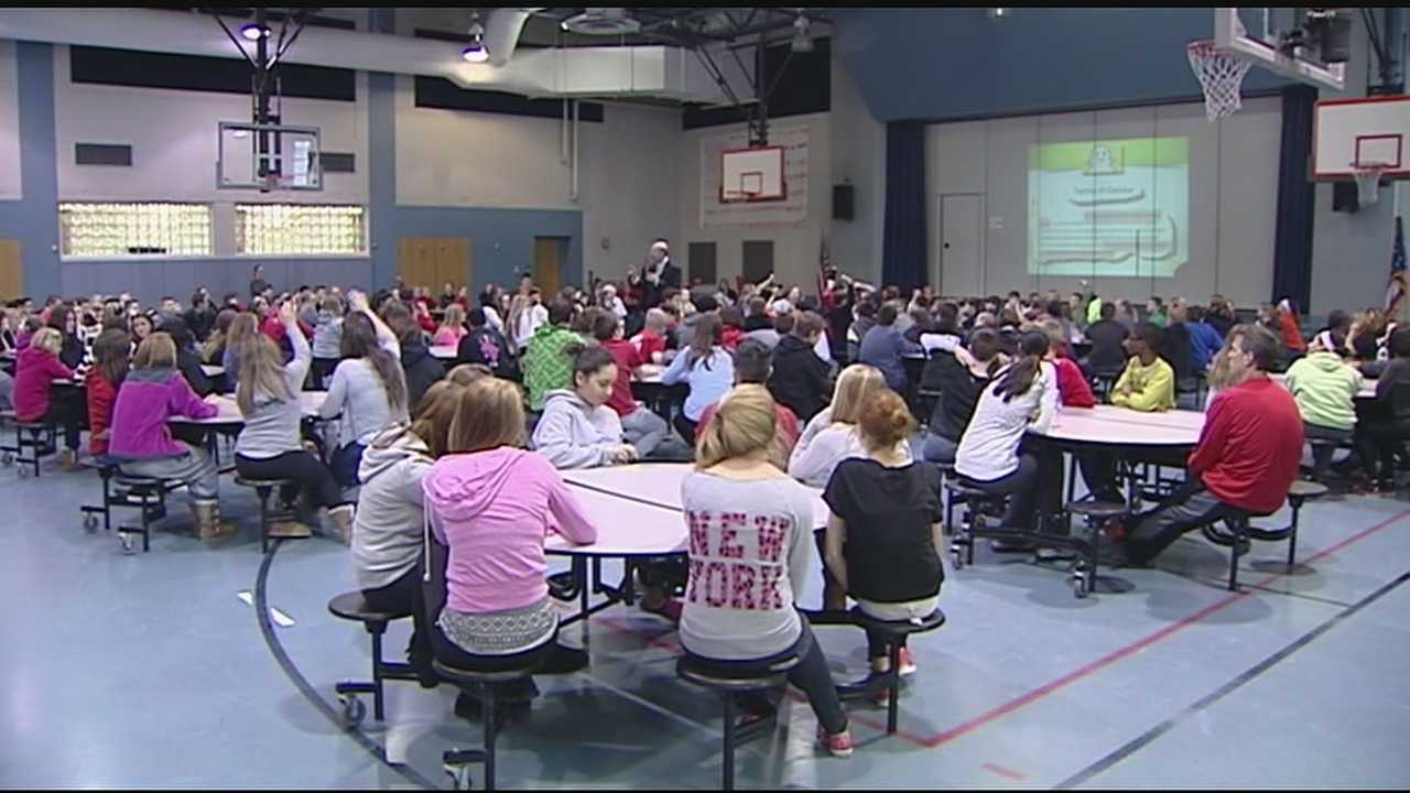 Delhi Middle School is starting a new program aimed at teaching students to be proactive when handling problems. The program is called Character Day.