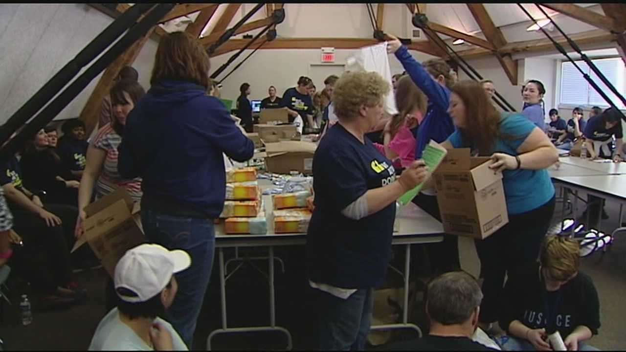 Martin Luther King Jr. Day is not just a day off work, but a day of service for many people. All across the Tri-State, volunteers took time to give back to the community in the memory of King's work.