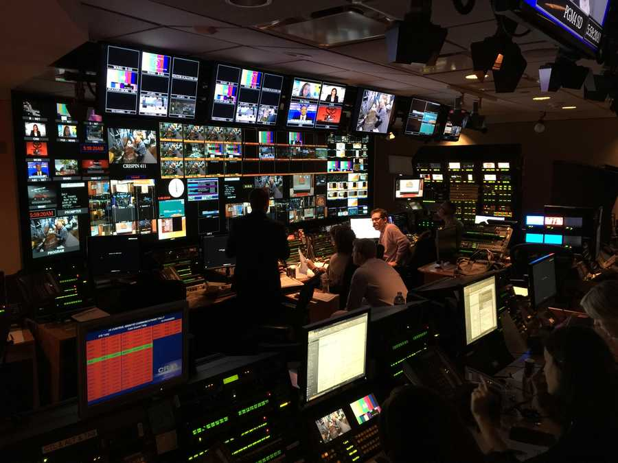 Their control room has about four times the screens that ours does