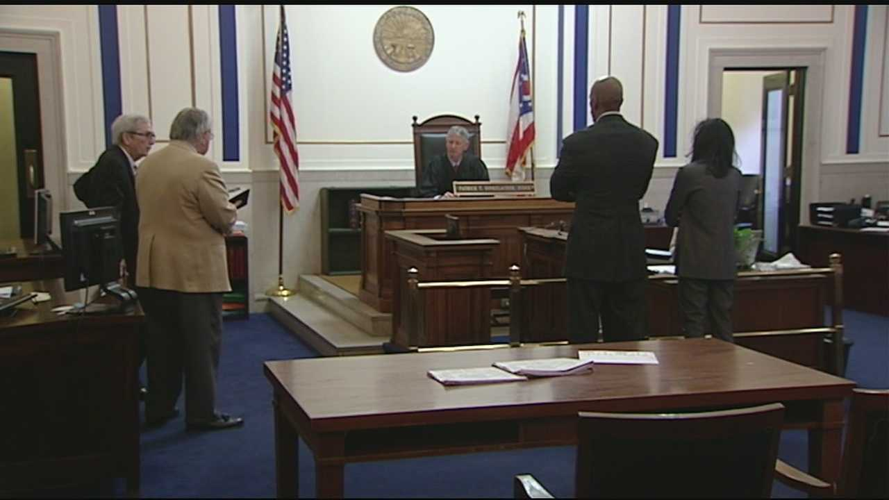 Hamilton County Juvenile Court Judge Tracie Hunter was in court Wednesday morning as special prosecutors begin a second trial against her.