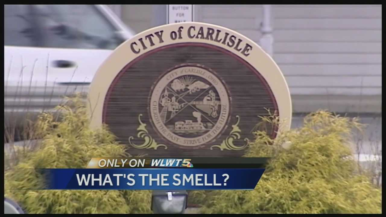 "Those living in the Warren County Village of Carlisle have all been asking the same question as Jessy Miniard, which is ""What is that smell?"" Neighbors said the smell is quickly spreading through the village."