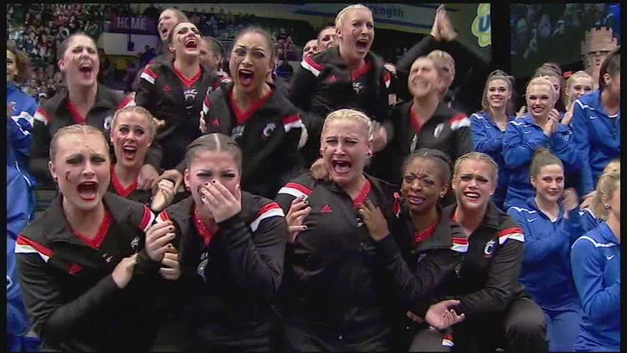 The University of Cincinnati has a history of winning, but now a team which is usually on the sidelines is taking center stage. Last weekend the UC Dance Team along with 200 other colleges competed in the 2015 College Cheer and Dance Team Championships in Orlando, Florida, and UC took home the gold.