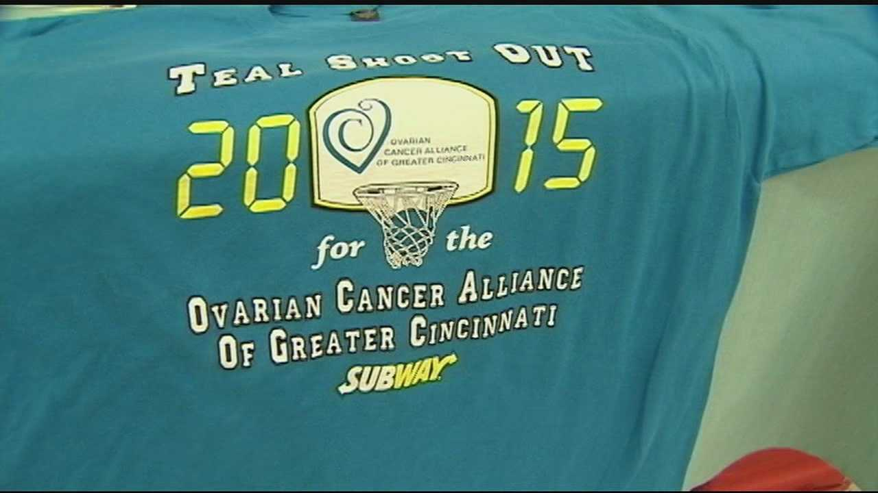 The Ovarian Cancer Alliance has grown into a sisterhood of survivors, spreading their stories and supporting each other. The third annual Teal Shoot Out featured the Oak Hill Lady's against Fairfield.