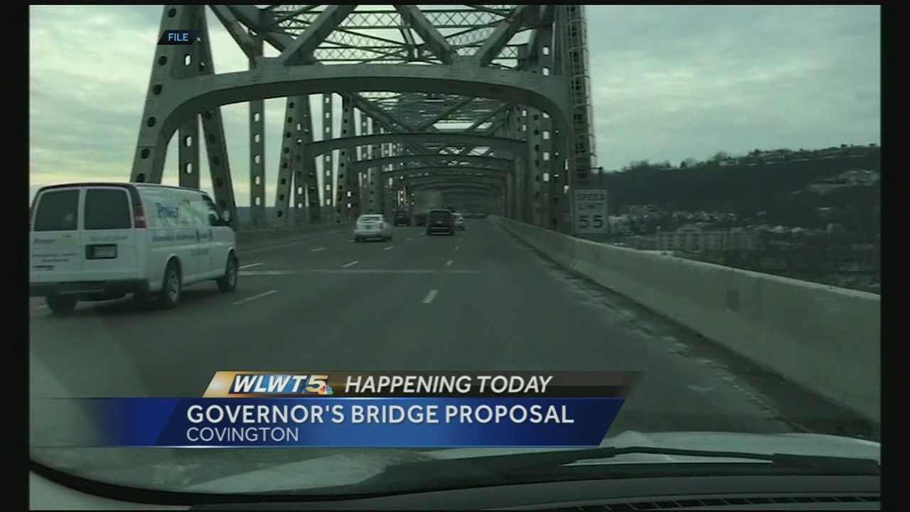 Ohio, Kentucky governors to announce developments in Brent Spence work, funding