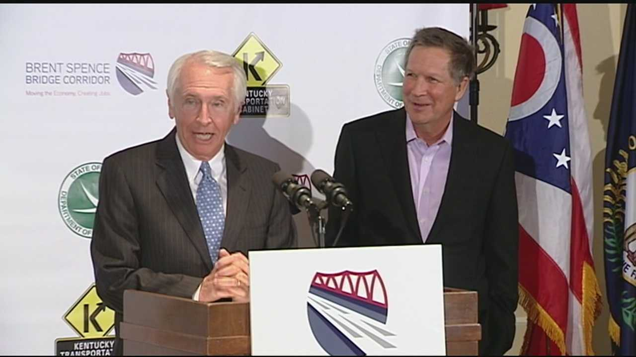 Kentucky Gov. Steve Beshear and Ohio Gov. John Kasich made the announcement Wednesday afternoon at the Metropolitan Club in Covington.