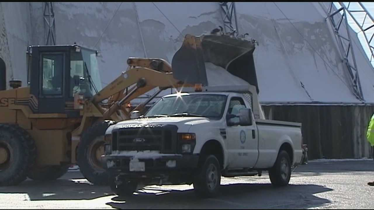 A winter storm watch has prompted Tri-State road crews to change their Super Bowl plans for Sunday.