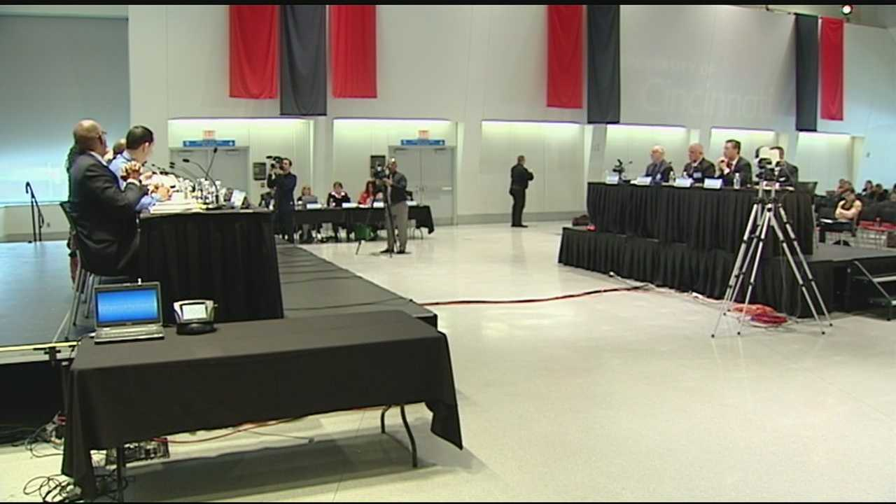 The Queen City is hosting President Barack Obama's Task Force on 21st Century Policing. Based at University of Cincinnati's Tangeman Hall, the two day meeting is an opportunity for the 11-person task force to talk with a rotating panel of four experts in law enforcement.