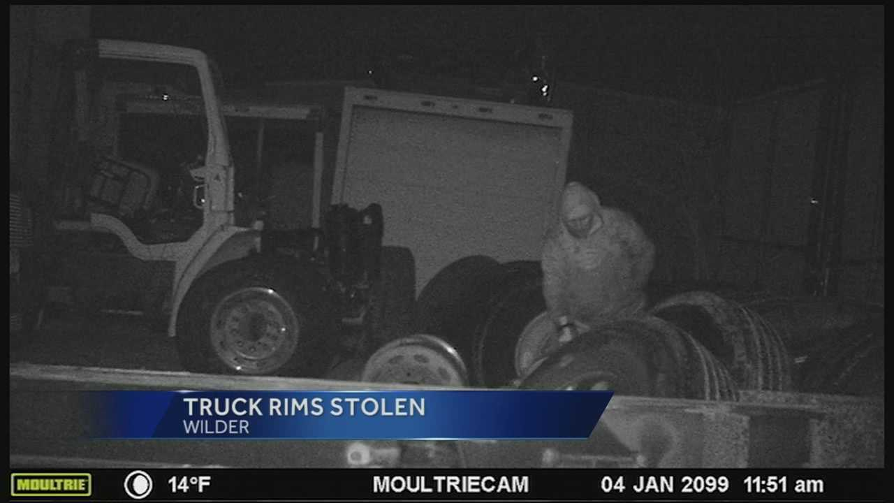 Semitruck rims worth thousands of dollars have been snatched from a trucking company in Wilder. Police have their wheels turning on finding those responsible of stealing about 40 truck rims from Bray Truck and Parts.