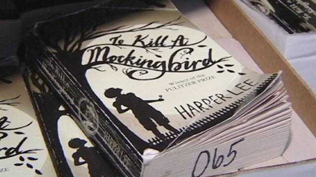 Students and teachers at Simon Kenton High School react to news of the upcoming release of a book by Harper Lee.