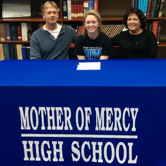 Mother of Mercy High School: Madison Johns, volleyball - Thomas More College