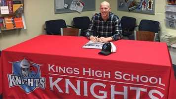 Kings High School: Tommy Bruns, football - Air Force Academy