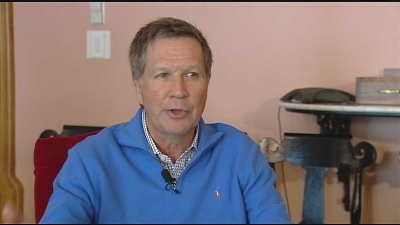 School districts that will absorb cuts as a result of the funding redistribution plan are crying foul. But, Gov. John Kasich defended it in an interview with WLWT News 5, saying it's fair and a help to struggling districts.
