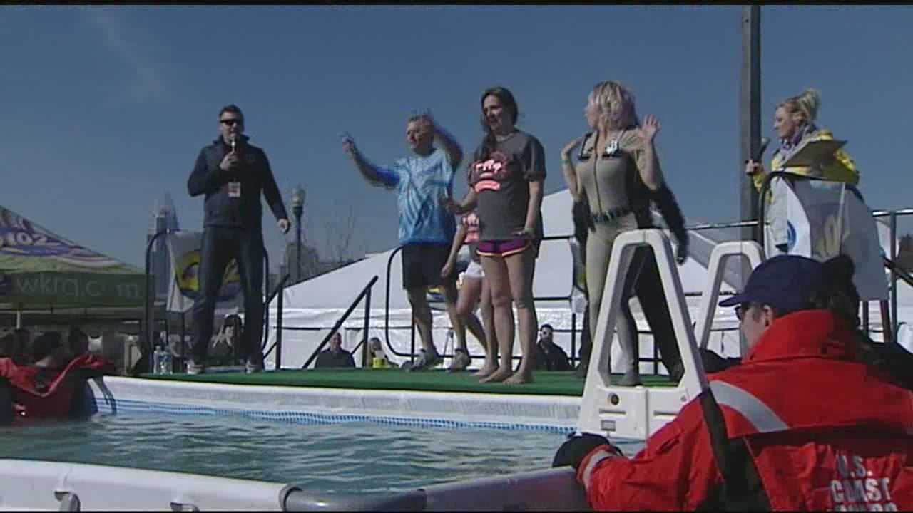 Trish Mazzoni from Special Olympics said the funds raised in the Polar Bear Plunge remain here in Northern Kentucky and Greater Cincinnati area.