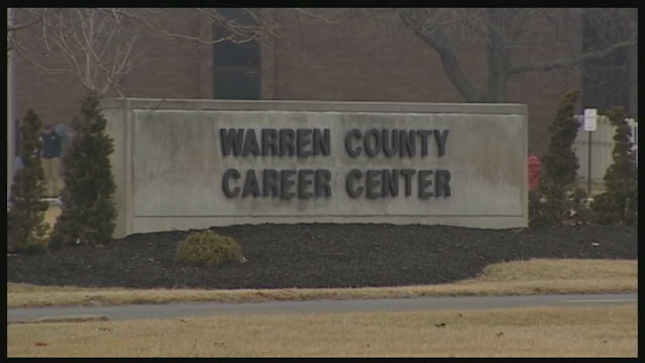 Students said an English teacher at the Warren County Career Center showed a video of the execution of the 26-year-old Jordanian Air Force pilot being burned alive in a cage.