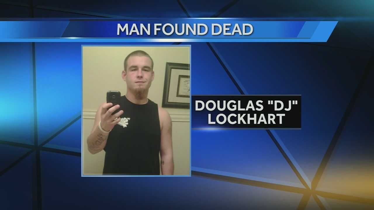 Indiana State Police Sgt. Curt Durnil said the body of 22-year-old D.J. Lockhart was found Thursday evening in a home in Bloomfield, about 65 miles southwest of Indianapolis.