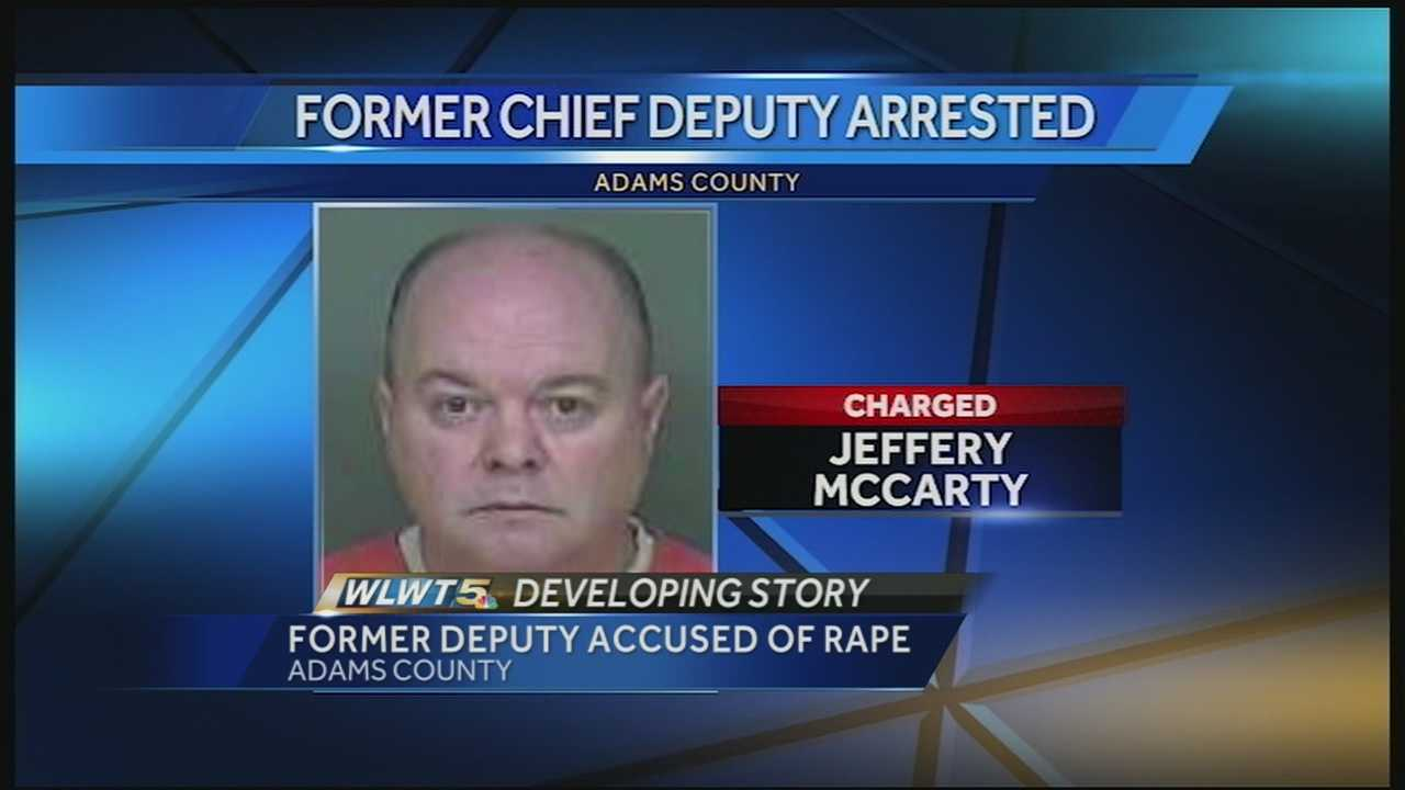 According to the sheriff's office, Jeffrey McCarty is charged with raping a minor.