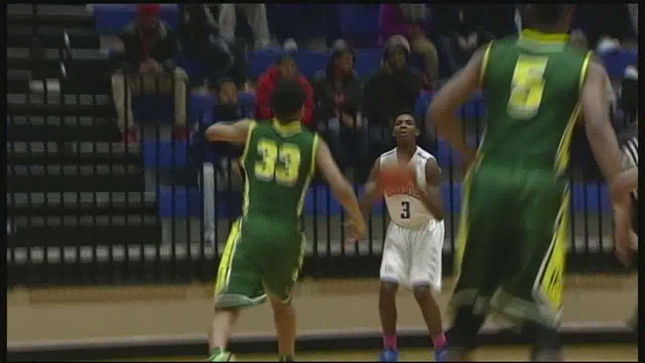 An apparent Facebook feud took down an innocent victim this week, a high school basketball game.