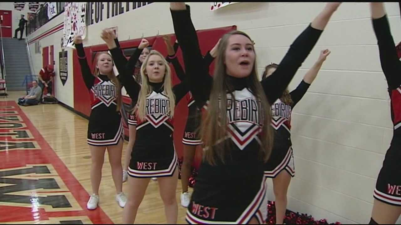 Lakota West has maintained daily practices for its winter sports, and even though school was closed Tuesday and Friday, the boys' basketball games were still played both nights.