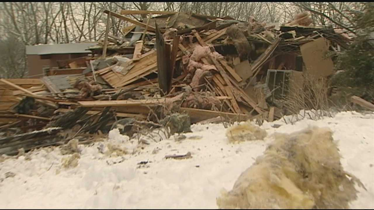 Andrew Koening and neighbors in the Alexandria community are in shock and revealed after Barbara and Keith Leary's home in the 4100 block of Beiting Drive exploded Saturday night.