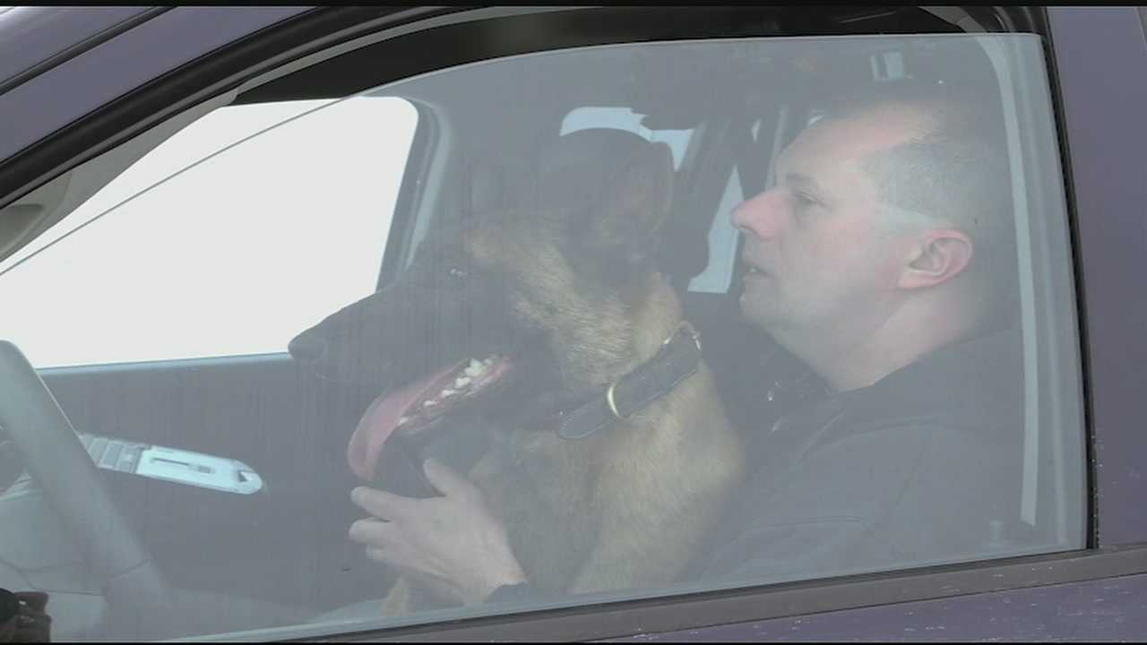 The Wilmington Police Department confirmed K-9 Karson has been found.