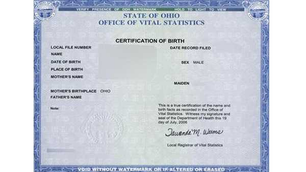 Ohio law to open access to adoptee\'s birth certificates