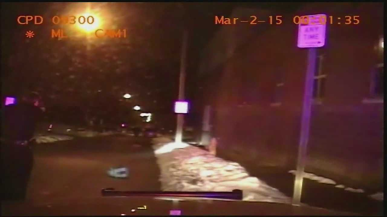 An aggravated robbery suspect pointed a shotgun at Cincinnati police officers in the early morning hours Monday, police say.