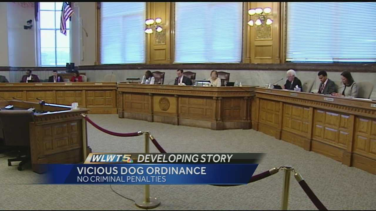 Council members approved a change that removes the criminal penalties that were part of the ordinance.