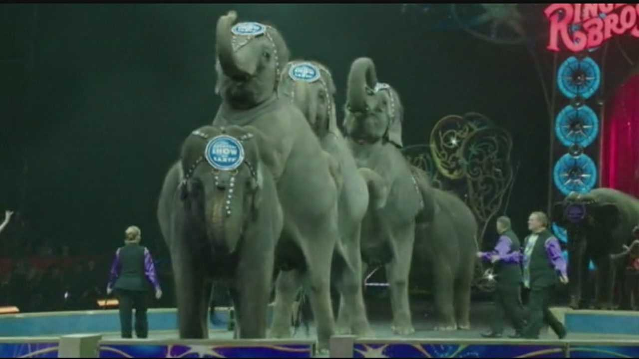 The news came as the circus began a four-day series of performances in Cincinnati.