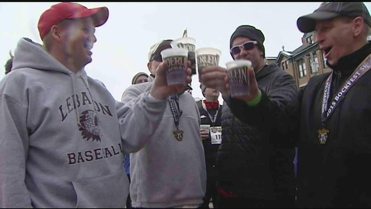 The Bockfest celebration continued Saturday with the running of the Bockfest 5K. Thousands of participants will raise a glass to celebrate Cincinnati brewing tradition.