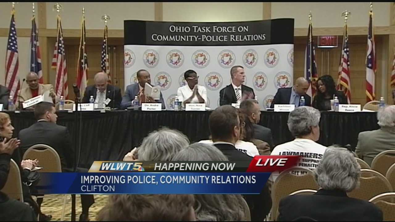 A task force of community leaders was set up in Ohio in December to help heal the relationship between the police and the communities they serve.The task force's final meeting was held in Cincinnati Monday. The task force has been to three other Ohio cities so far, and Gov. John Kasich expects members to come up with a plan for action after receiving the input from the different communities.