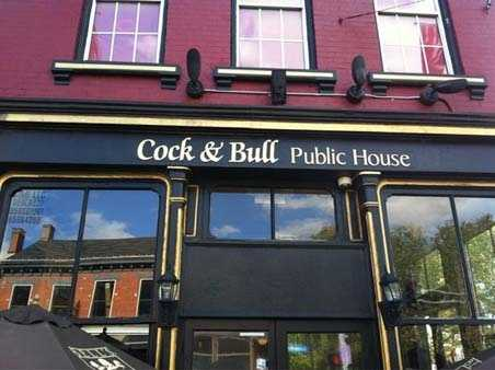 Cock and Bull (Hyde Park, Mainstrasse and Glendale)All locations open at 6 a.m. First 500 customers get a free T-shirt while supplies last. Drink specials all day and breakfast starting at 6 a.m.