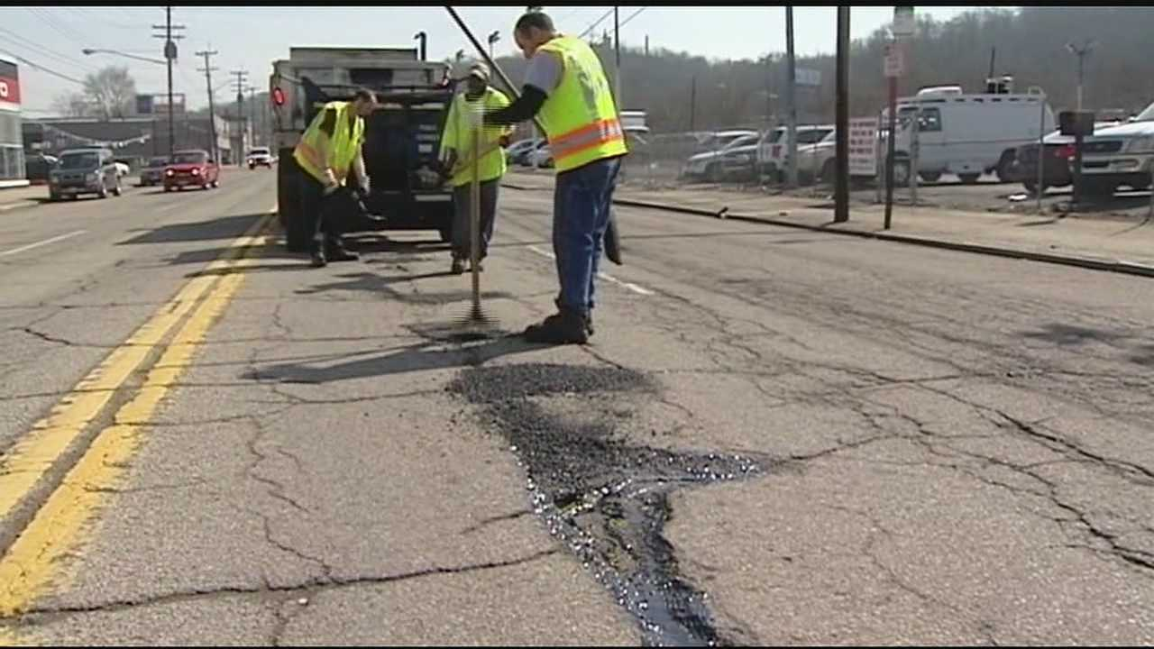 The winter season has left Greater Cincinnati roads peppered in potholes. Now begins the city's blitz to remedy all the blemishes in the roadway.