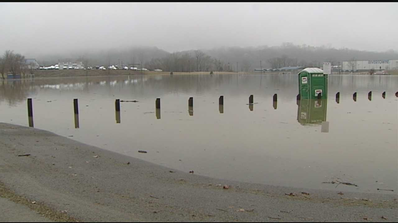 People who live along the Ohio River in areas like the East End and Anderson Township are familiar with the headaches spring rains can cause. The Hamilton County Engineer sent out a notice that Kellogg Avenue would be closed near Belterra Park, at Four Mile Road and at Eight Mile Road starting at noon on Wednesday because of the threat  of high water.