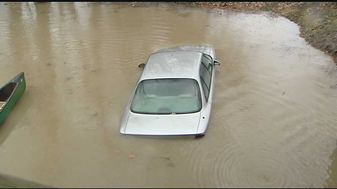 Some residents are watch the Ohio River closely, hoping they don't have to evacuate because of flooding.