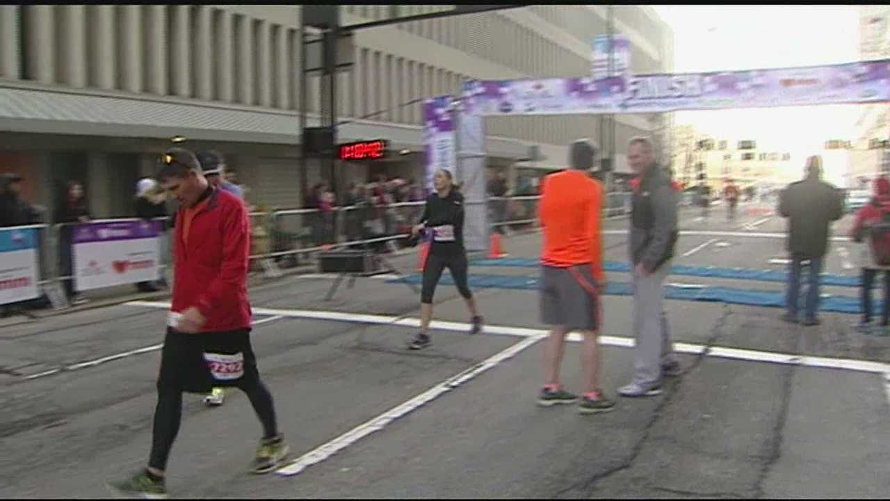 The 37th annual event brought out 27,000 runners Sunday.