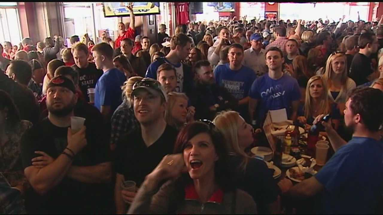 From upsets to uproars, thousands of fans came out in droves Saturday to cheer their team on in the NCAA tournament. The Banks was packed Saturday as fans filled bars like The Holy Grail to cheer on the Bearcats, Wildcats, Buckeyes and Musketeers.