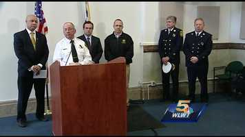 11:00 a.m.: Cincinnati Mayor John Cranley, City Manager Harry Black, Cincinnati Fire Chief Richard Braun and Cincinnati Firefighter Union President Matt Alter hold a news conference to announce Gordon's death. He is the first Cincinnati firefighter to die in the line of duty since Oscar Armstrong was killed in 2003.Watch the press conference